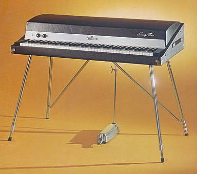 Gibson ( Kalamazoo ) G101 ( Most popular with The Doors ) Music clip The Doors \  Waiting for the sun \  & Jeffs Vintage Keyboards Page